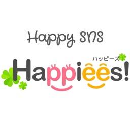 Happiees! (ハッピーズ)幸せ届く SNS