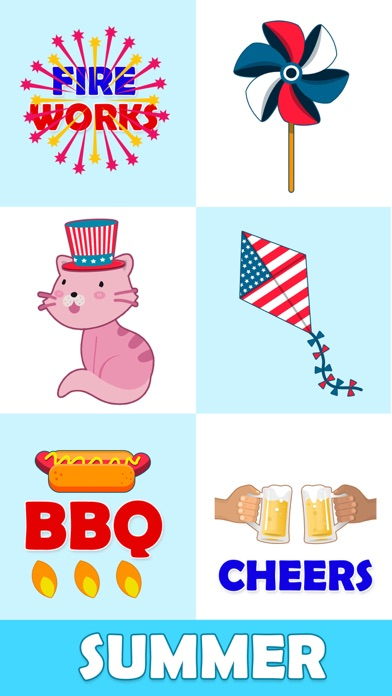 Animated July Fourth Stickers Screenshot 4