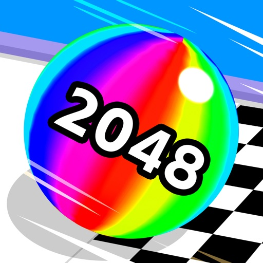 Ball Run 2048 free software for iPhone and iPad