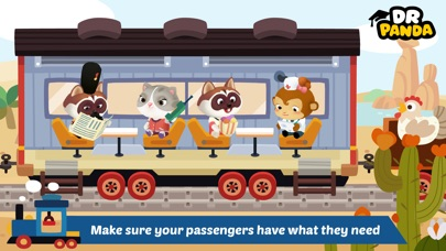 Dr. Panda Train Screenshots