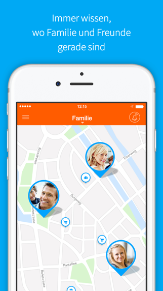 FAMILO Finde Familie, FreundeScreenshot von 1