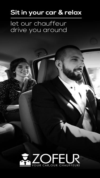 Zofeur Your Car,Our Chauffeur! screenshot-3