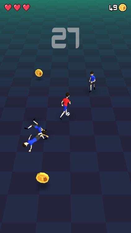 Soccer Dribble: DribbleUp Game