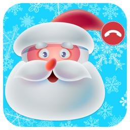 Santa Claus and reindeer call