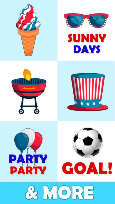 Animated July Fourth Stickers Screenshot 6
