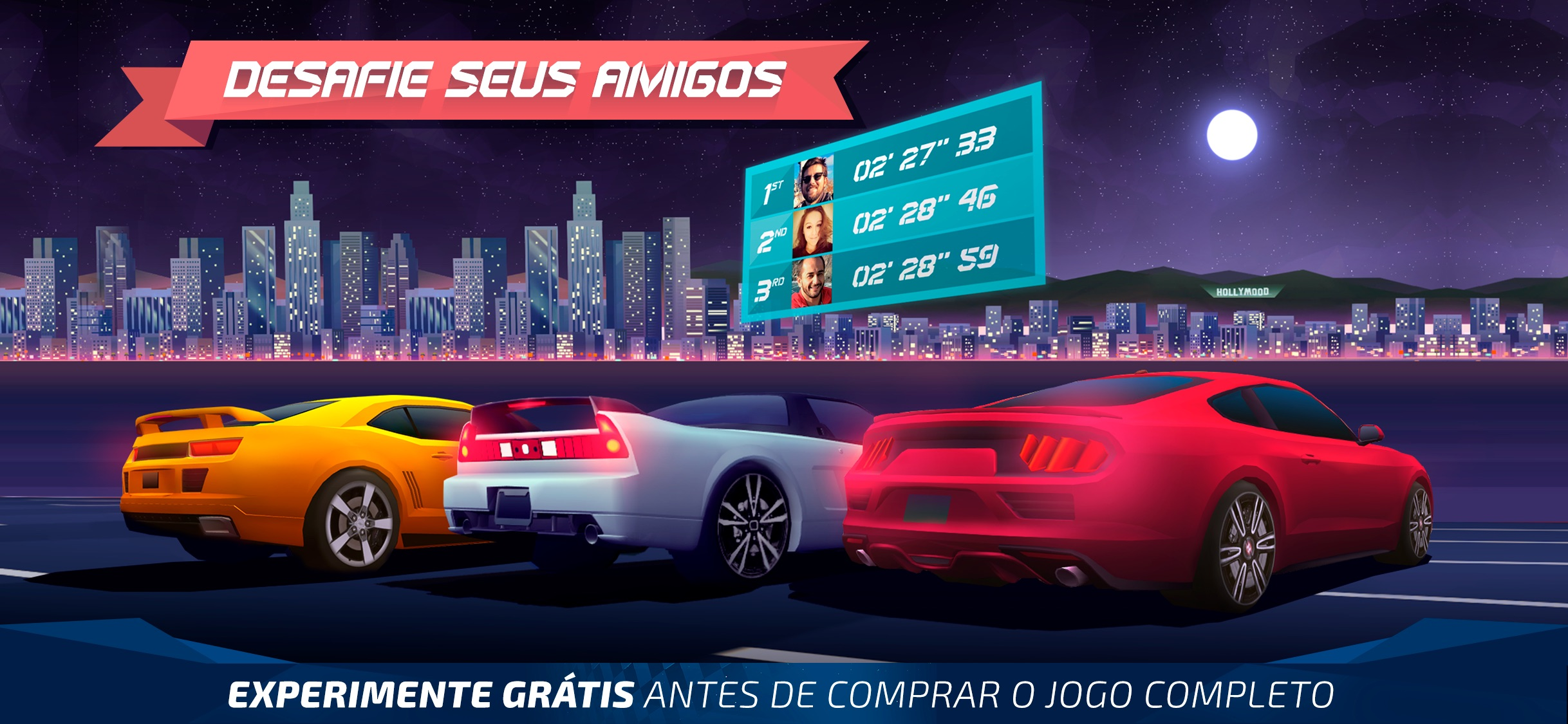 Screenshot do app Horizon Chase - World Tour