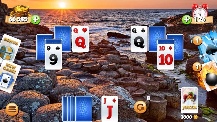 Tri Peaks Solitaire Card Games screenshot-4