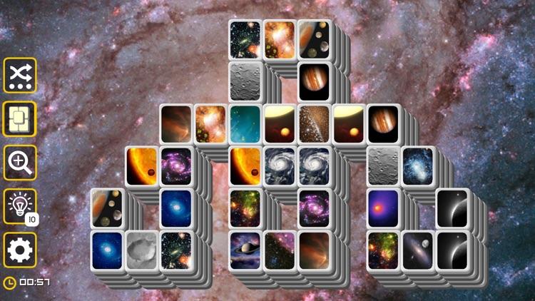 Mahjong Galaxy Space & Towers screenshot-8