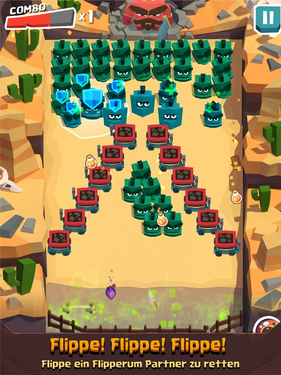 Screenshot 1 RoundRick - Brick Breaker