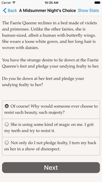 A Midsummer Night's Choice screenshot-4