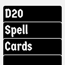 D20 Spell Cards