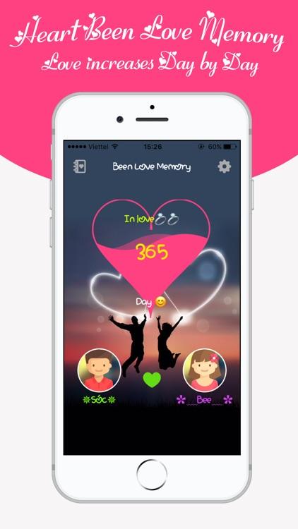 Been Love Memory -Love Counter screenshot-0