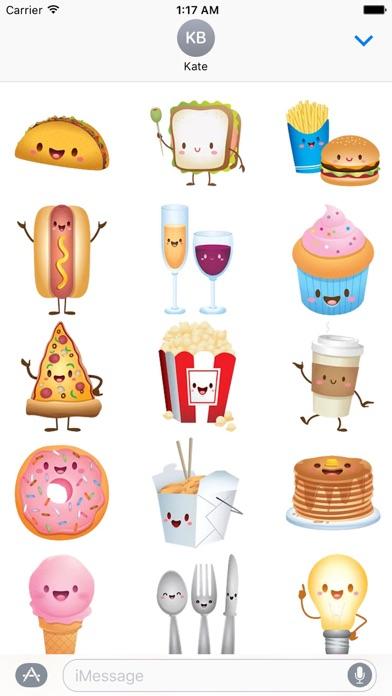 Cute Icons IconMoji Sticker screenshot 2