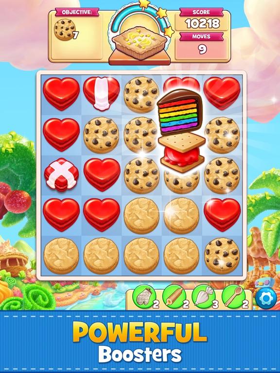 Cookie Jam: Match 3 Games iPad app afbeelding 3