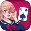 Solitaire Manga Girls