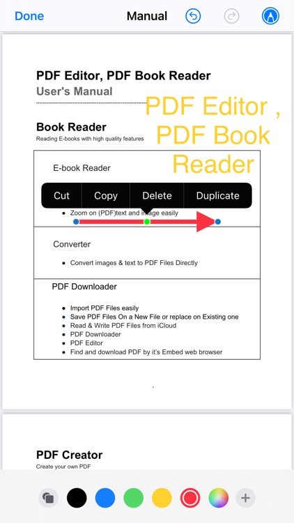PDF Editor ,PDF Book Reader screenshot-9