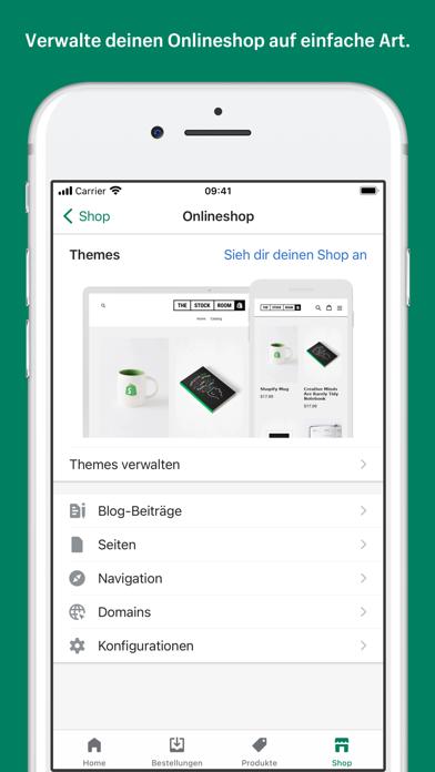 Shopify: Mobiler E-CommerceScreenshot von 7
