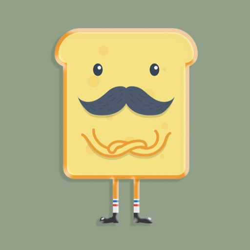 Moody Toast Stickers icon