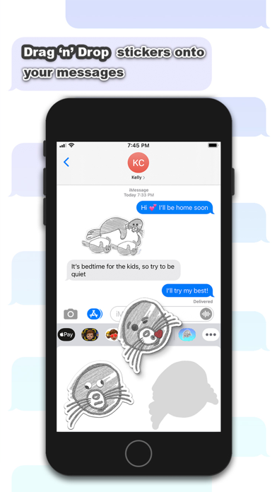 Sealy - Seal Stickers Screenshot