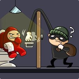 Thief master: puzzle game