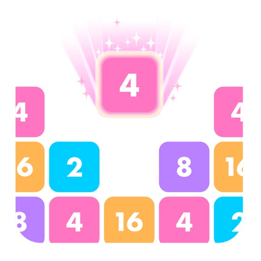 ポッピンブロック-数字で脳トレ マージゲーム
