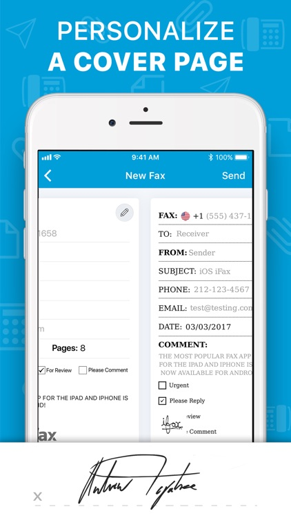 iFax: Fax app, fax from iPhone screenshot-5
