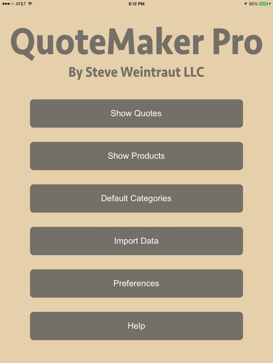 QuoteMaker Pro screenshot-0