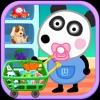 熊猫宝宝逛超市-小熊巴巴