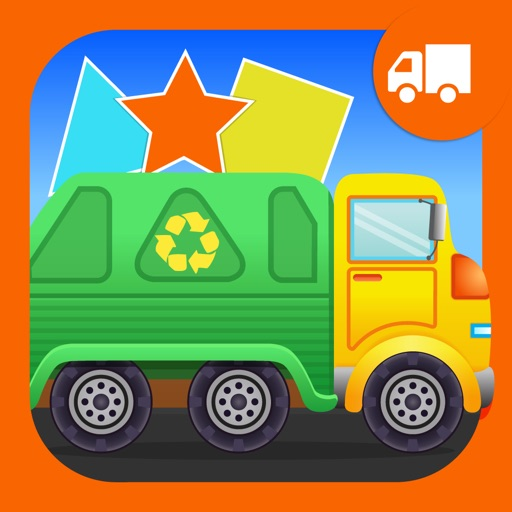 Shapes Garbage Truck For Kids