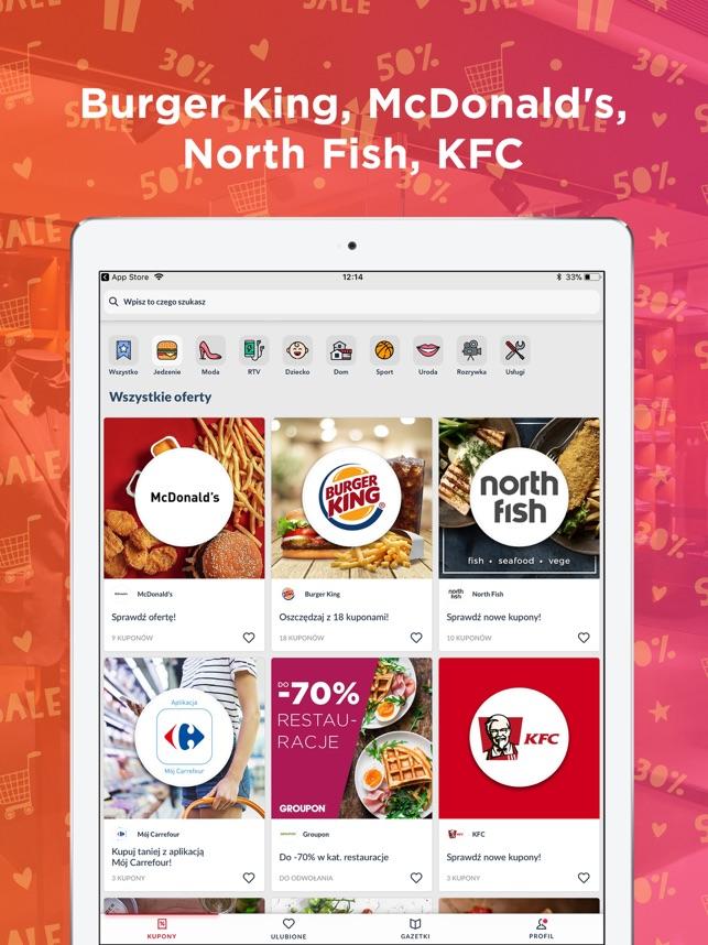 Kupony i promocje - Qpony Screenshot