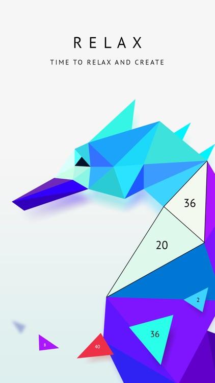 Poly Artbook - puzzle game screenshot-3