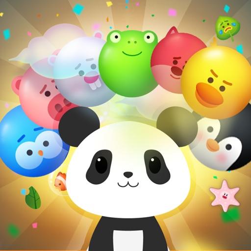 Panda Bubble Puzzle!
