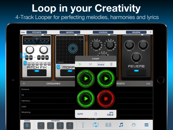 VocaLive CS for iPad screenshot three