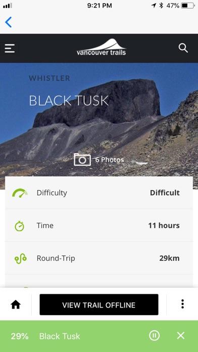 Vancouver Trails screenshot three