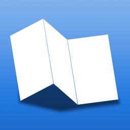 Ícone do app Maplets – The Offline Maps App