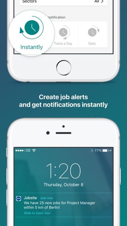 Jobsite - UK Job search app screenshot-3