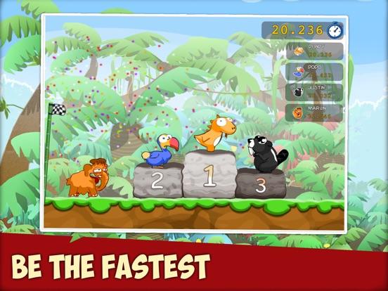 Скачать Dino Rush Race