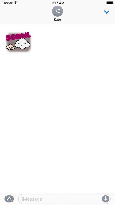 Animated Cute Weather Sticker Screenshot