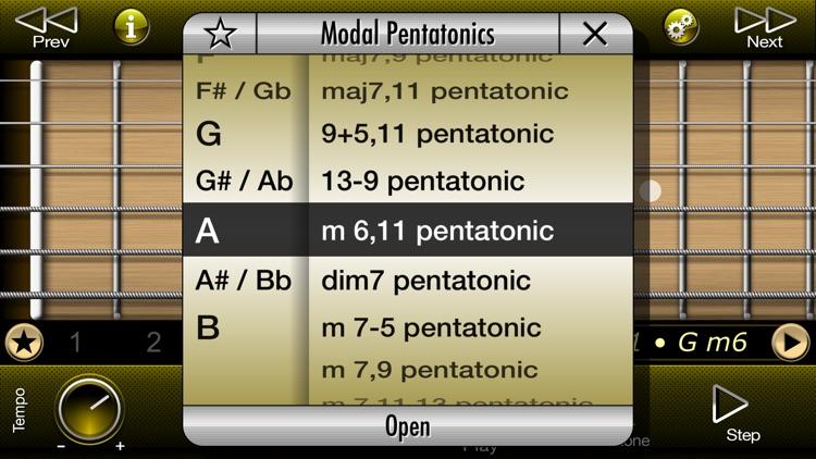 Guitar Modal Pentatonic Scales screenshot-3
