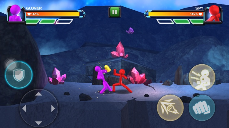 3D Fighting Games: Superhero screenshot-3