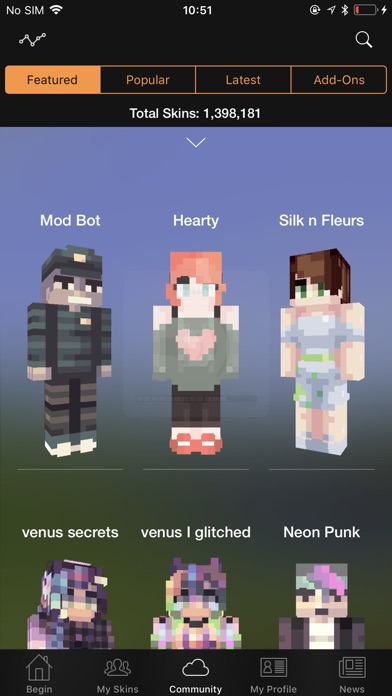 Screenshot #8 for Minecraft: Skin Studio
