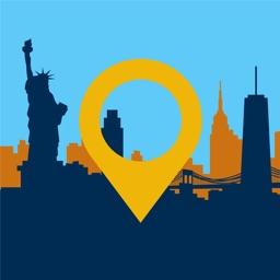 360 NYC New York City AR Map