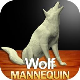 Wolf Mannequin