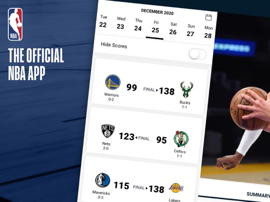 iPad Image of NBA: Live Games & Scores