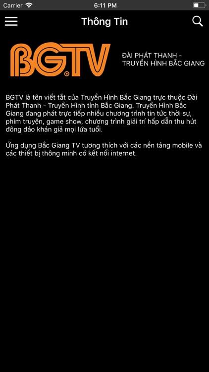 Bắc Giang TV screenshot-3