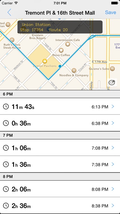Transit Tracker - Denver screenshot-0