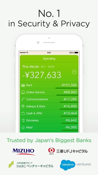 Moneytree - Finance Made Easy Screenshot on iOS