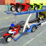 Motorcycle Transporter Truck