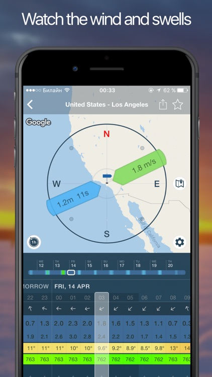 WINDY: wind forecast, NOAA marine weather & alerts