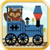 Scott Adelman Apps Inc - Train Games for Kids: Zoo Railroad Car Puzzles All artwork